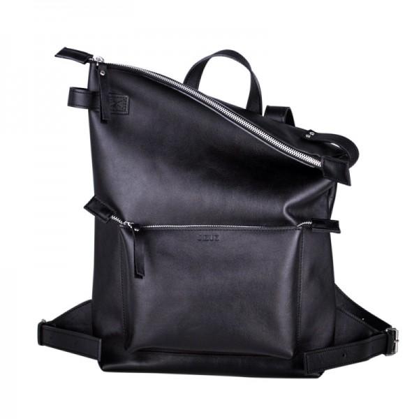 Рюкзак Voyager блек гладкий