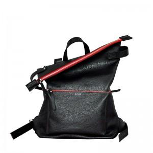 Рюкзак Voyager блек красная молния