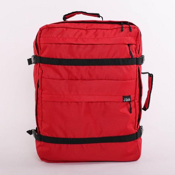 Рюкзак для ручной клади Тревелер красный