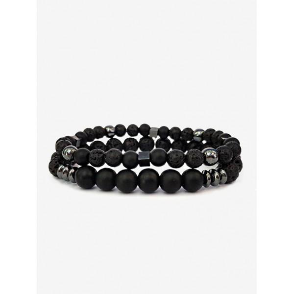 Набор браслетов Black Set DM3038blk