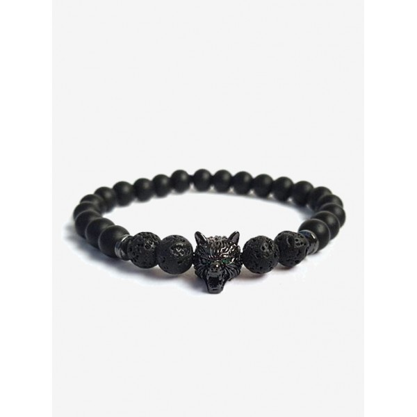 Бласлет Wolf Stone DM3073blk