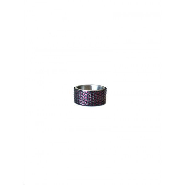 Кольцо STEEL фиолет