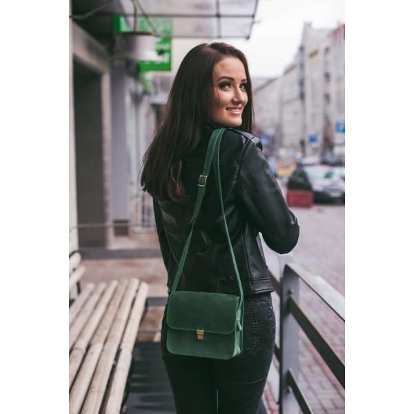 Бохо-сумка Лилу изумруд