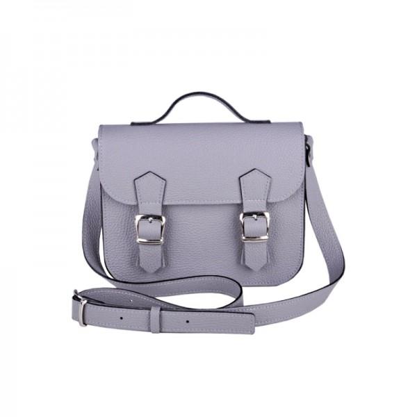 Женский портфель Satchel Mini серый 35108ca0401fb