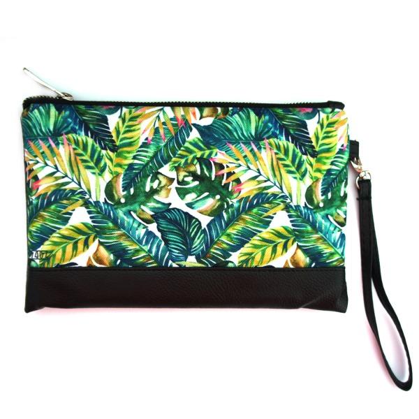 Клатч молодежный Пальмовые листья
