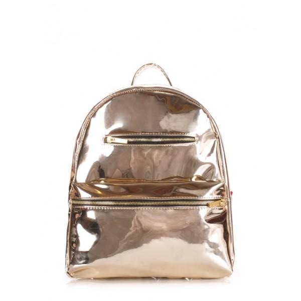 Мини рюкзак золото