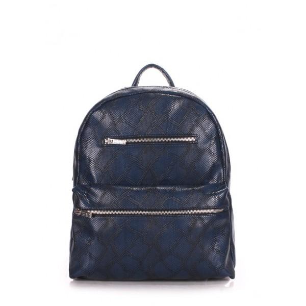 Мини рюкзак синий