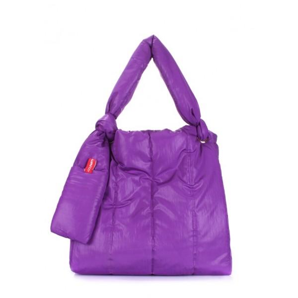 Дутая сумка Zefir Фиолет