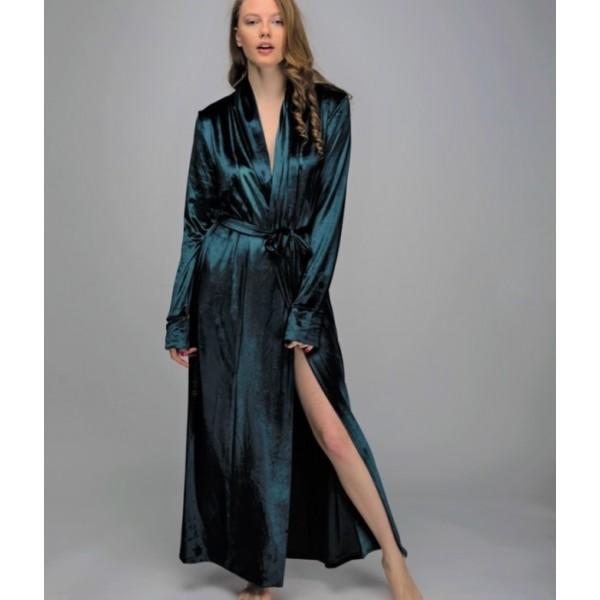 Женский домашний халат LD1863grn