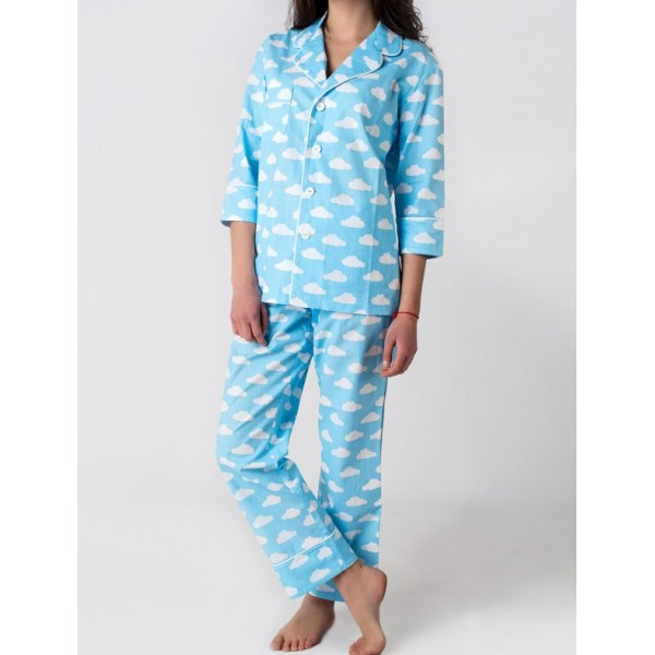 Пижамный костюм Облака