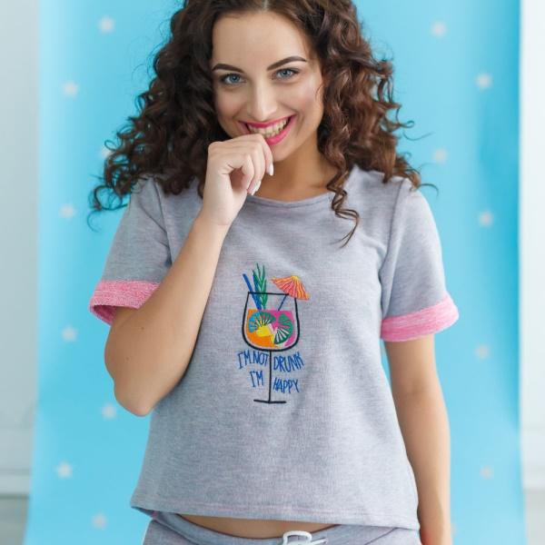 Комплект штаны и футболка Happy