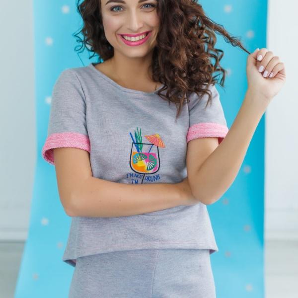 Комплект шорты и футболка Happy
