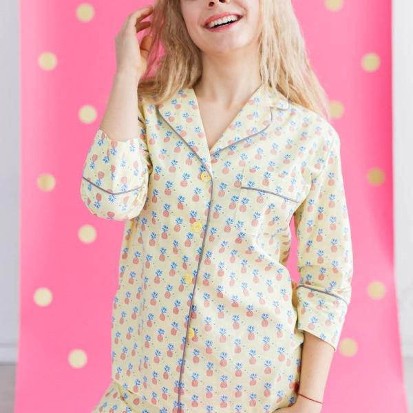 Пижама Ананасы