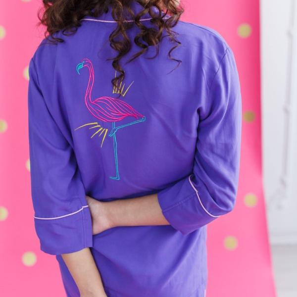Пижама Фламинго