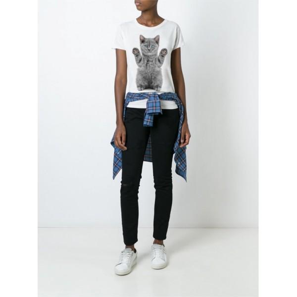 Женская футболка Y2069wt