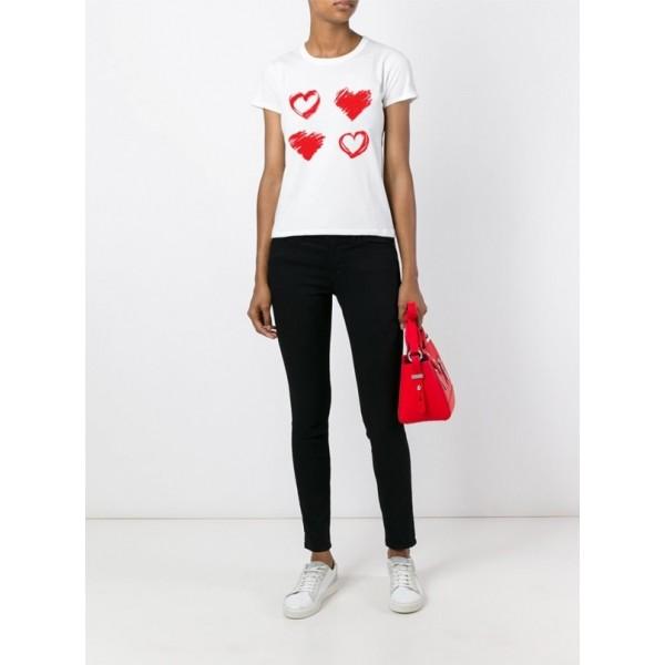 Женская футболка с принтом Y2066wt
