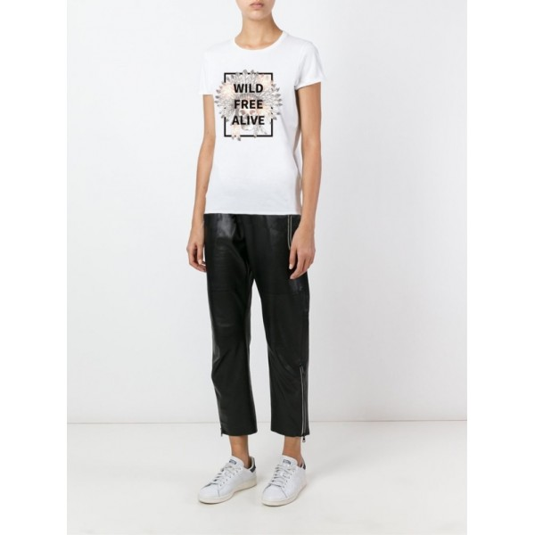 Женская футболка Wild Free Alive