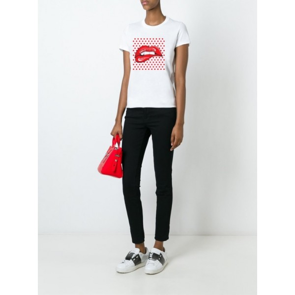 Женская футболка Lips