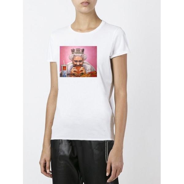 Женская футболка с принтом Queen
