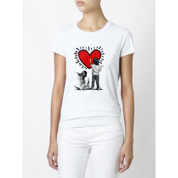Женская футболка Это любовь