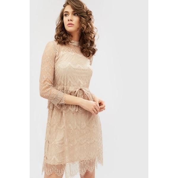 Кружевное платье CD1781crmy
