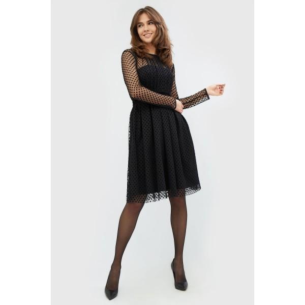 Коктейльное платье CD1797blk