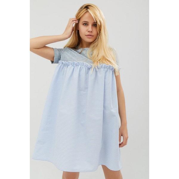 Платье-футболка CD3233combi