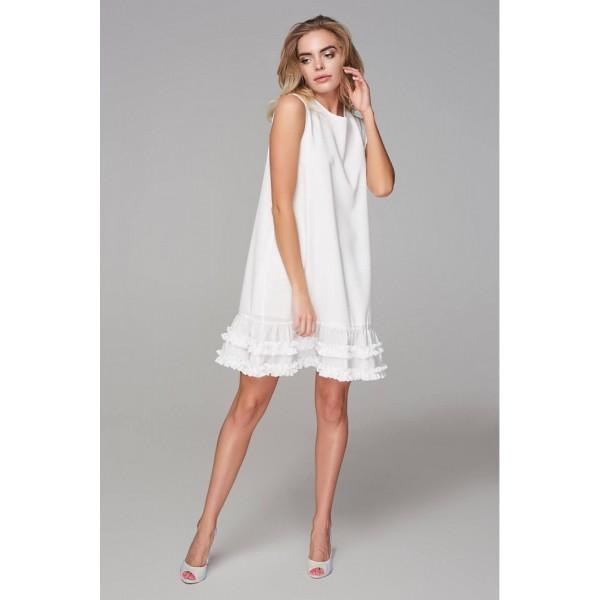 Платье Париж белое