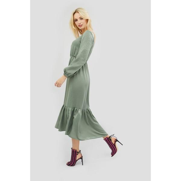 Легкое платье SEDIS оливковое