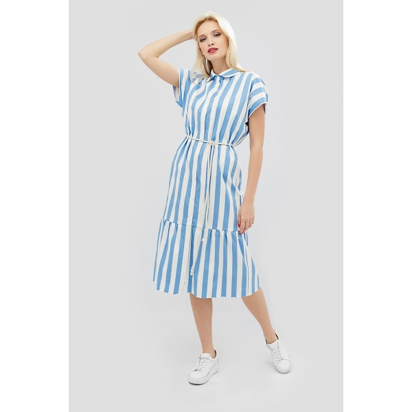 Платье-рубашка CD2627bl