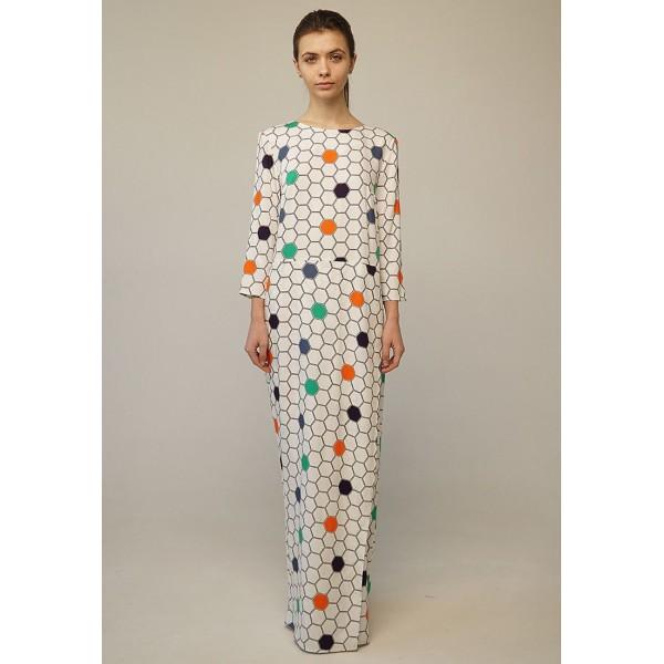 Хлопковое платье IU3156combi