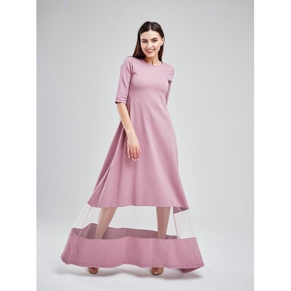 Платье в пол MS3119pnk