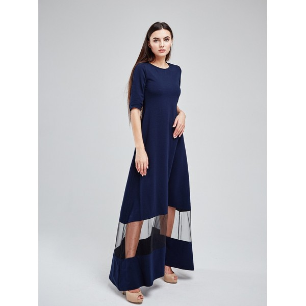 Платье в пол MS3120dbl