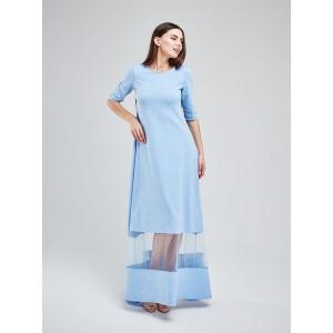 Платье в пол MS3121bl