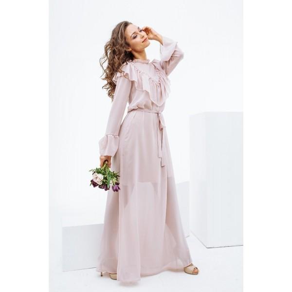 Вечернее платье NR3108crmy