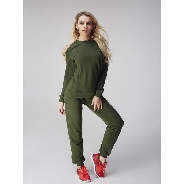 Женские спортивные штаны грин