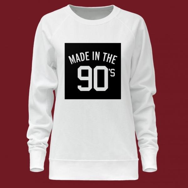 Свитшот женский Made in the 90