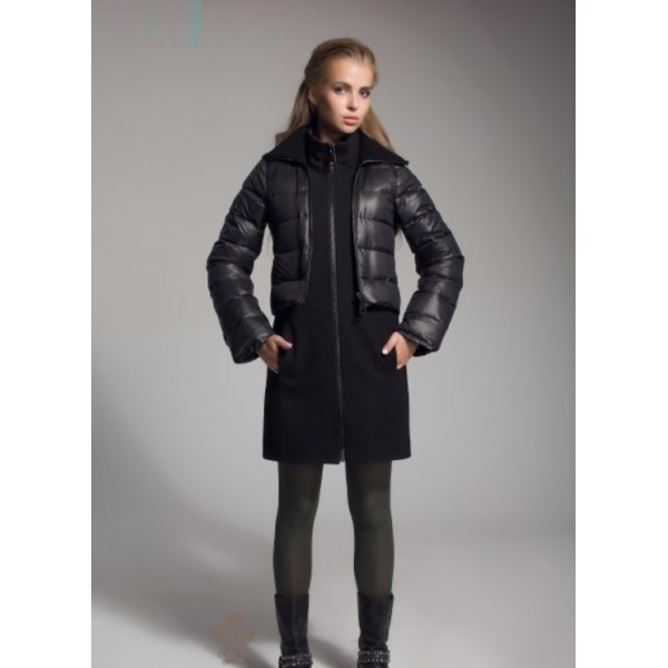 Пальто-пуховик MLN1750blk