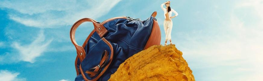 Дорожные сумки Цвет Синий