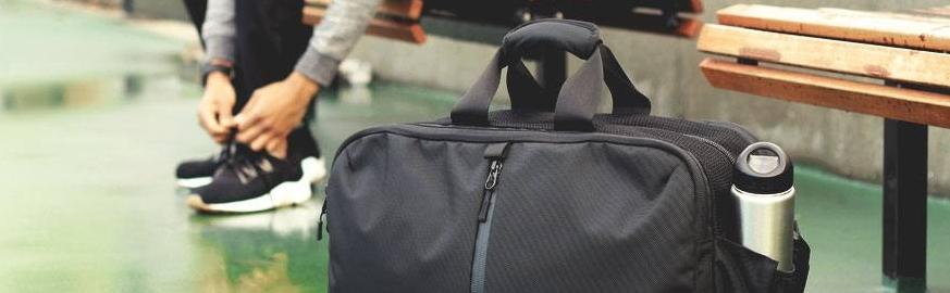 Мужские сумки для спорта Материал Натуральная кожа