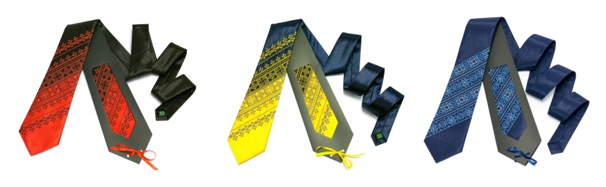 Этно галстуки